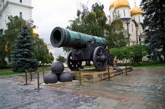 Tsaarkanon in Moskou het Kremlin Royalty-vrije Stock Foto