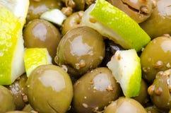 Tsakistes cassés d'olives Photographie stock libre de droits