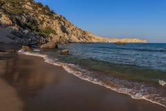 Tsambika beach Stock Images