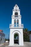 Tsambika Monastery on Rhodes island, Greece. Stock Photos