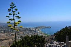 Tsambika, Rhodes Island, Griekenland, Europa Royalty-vrije Stock Foto's