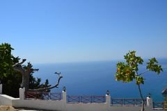 Tsambika, Rhodes Island, Griekenland, Europa Royalty-vrije Stock Afbeelding