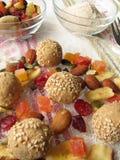 Tsampa dumplings Stock Images