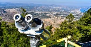 Tsampikamening vanaf de bovenkant van de berg royalty-vrije stock afbeeldingen