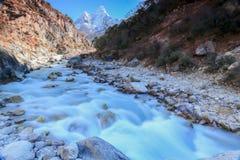 Tsang di Nangkar dal Nepal Immagine Stock Libera da Diritti