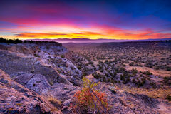 Tsankawi Sunrise Royalty Free Stock Photography