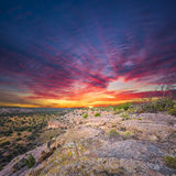 Tsankawi Sunrise Royalty Free Stock Image