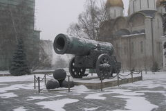 Tsar大炮在莫斯科 图库摄影