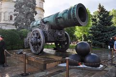 tsar的大炮 库存图片