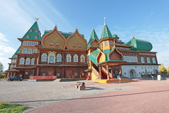 Tsar Alexei Mikhailovich wooden palace in Kolomenskoye Royalty Free Stock Image