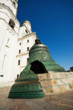 Tsar bell close up view in Kremlin, Moscow Stock Photos