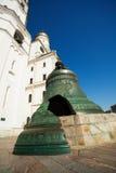 Tsar bell close up view in Kremlin, Moscow Stock Photos