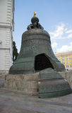 Tsar Bell in the Kremlin, Moscow. Royalty Free Stock Photo