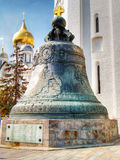 Tsar Bell is the largest in the world. Moscow Kremlin, Russia Stock Photography