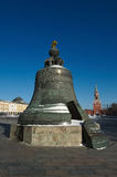 Tsar Bell in the Moscow Kremlin, is cast in the cannon yard in 1 Stock Photo