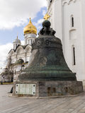 Tsar Bell in the Moscow Kremlin, Russia Royalty Free Stock Photos