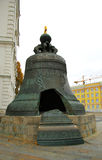 Tsar Bell In Moscow Kremlin. Russian landmarks Stock Photos