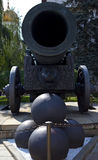 Tsar Cannon at the Kremlin Stock Photos