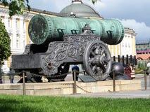 Tsar Cannon Kremlin Moscow Russia Royalty Free Stock Photography