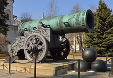 Tsar Cannon Stock Photography