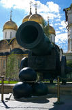 Tsar Cannon in Moscow Stock Images