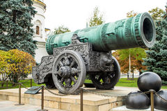 Tsar Cannon in Moscow Royalty Free Stock Photo