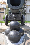 Tsar Cannon in Moscow Kremlin Royalty Free Stock Photography