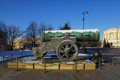 Tsar Cannon, Moscow Kremlin, Russia Stock Photo