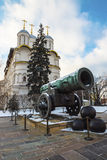 Tsar Cannon, Moscow Kremlin, Russia Royalty Free Stock Image