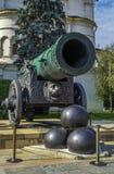 Tsar Cannon, Moscow Stock Photography