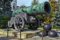 Tsar Cannon, Moscow Royalty Free Stock Photos