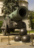 Tsar Cannon, Moscow, Russia Royalty Free Stock Image