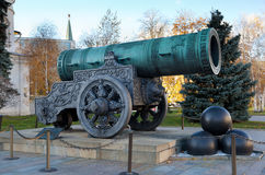 Tsar Cannon Stock Image