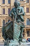 The Tsar Carpenter Royalty Free Stock Images