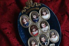 Tsar children at Tsarskoye Selo Pushkin Palace Stock Images