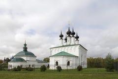 Tsar Constantine kościół w suzdal, federacja rosyjska Obrazy Royalty Free