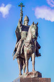 Tsar Ivan Terrible monument in Oryol stock photography