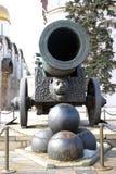 tsar kanon Arkivbild