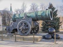 Tsar Kanone Lizenzfreie Stockfotos