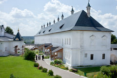 Tsar Palace in Savvino-Storozhevsky Monastery in Zvenigorod Stock Photography