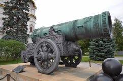 Tsar-pushka in Kremlin Immagine Stock Libera da Diritti