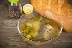 Tsar's fish soup Stock Photo