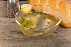 Tsar's fish soup Stock Images