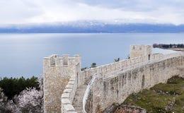 Tsar Samuel's fortress Royalty Free Stock Photo
