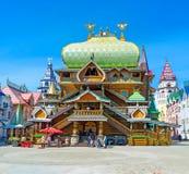 Tsar slott i Izmailovo Royaltyfria Bilder