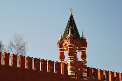 Tsar Tower of the Moscow Kremlin, Russia Royalty Free Stock Image