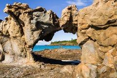 Tsarabanjina海岛 库存图片