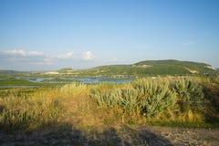 Tsarev kurgan Przyciąganie Samara region Na pogodnym letnim dniu Obrazy Royalty Free