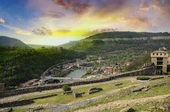 Tsarevec fortress Royalty Free Stock Photography