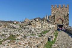 Tsarevets,中世纪堡垒 免版税库存图片